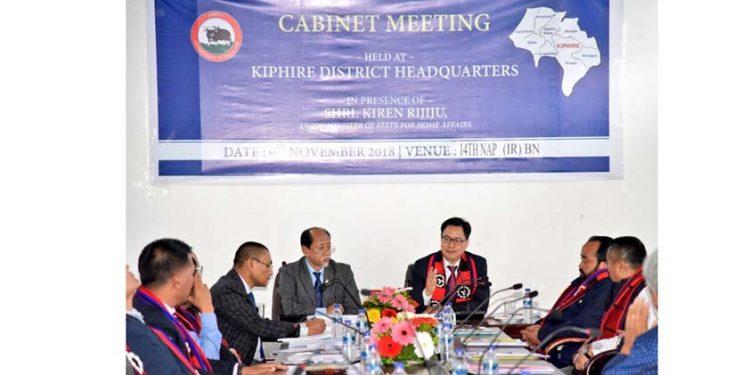 Nagaland Cabinet meeting