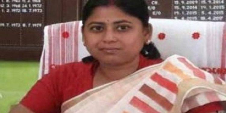 Dibrugarh Municipal Board chairperson Soma Chakraborty. Photo: Avik Chakraborty