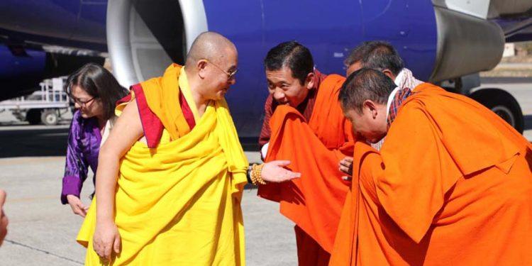 70th Je Khenpo Trulku Jigme Choedra