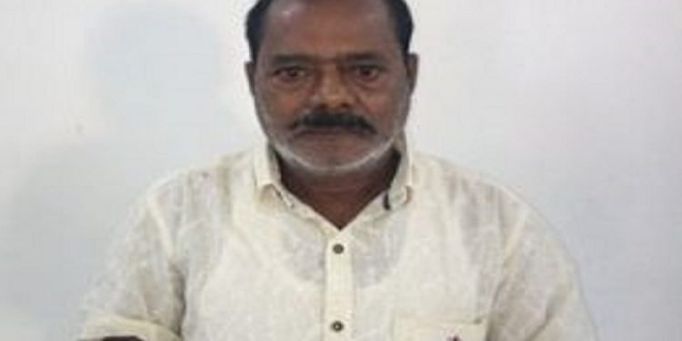 A 60-year-old man G S Mudallyar, allegedly the kingpin of robbers, who robbed Rs 80 lakh from a van carrying cash outside SBI's Dimapur main branch on July 19 was arrested in Howrah railway station on October 28. Photo: Northeast Now