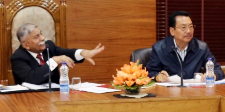 Governor chairs meeting on Kendriya Vidhyala (2)