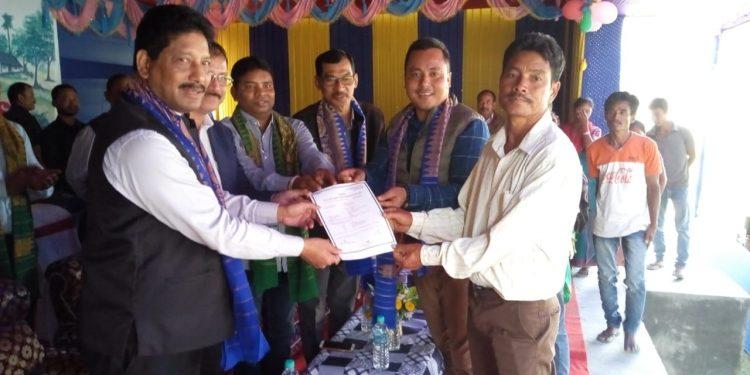 137 Tribal families get land pattas in Udalguri