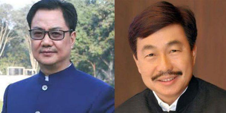 Kiren Rijiju and Tapiur Gao