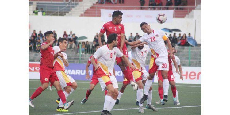 Shillong Lajong vs EB