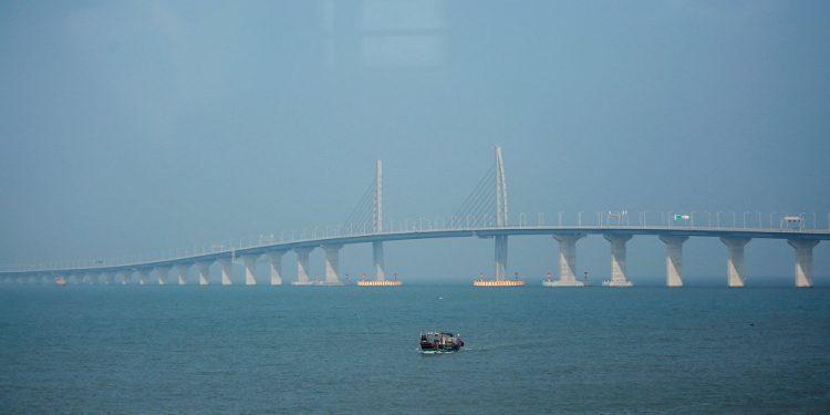 The 55-km long bridge connecting Hong Kong, Macau and mainland China. (Image for representational purpose only)
