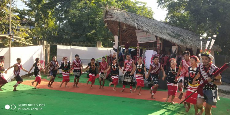 Ngada, Festival of the Rengma Naga held at Rengma Colony, Diphu with traditional fun and fervour. (4)