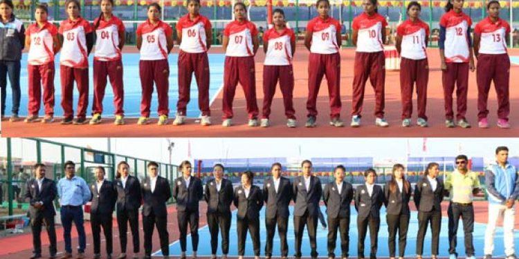 Players in Tripura University