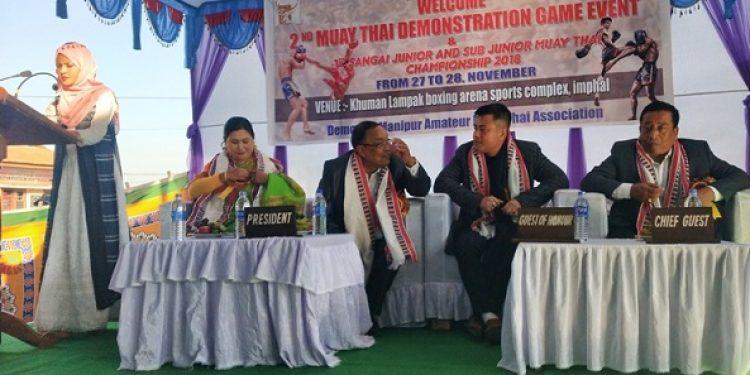 Manipur Muay Thai Demonstration Games