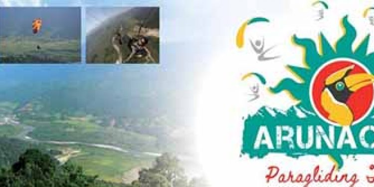 arunachal gears up for state's first paragliding festival