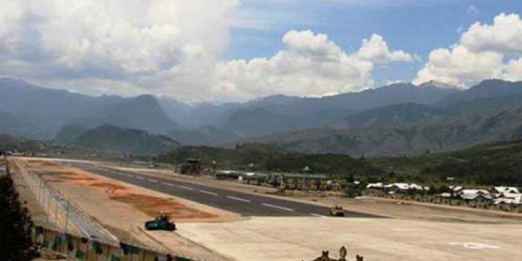 advanced landing ground in arunachal new