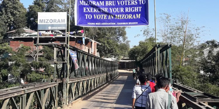 Tripura: Last stage of campaigning; no excitement among Bru's for voting