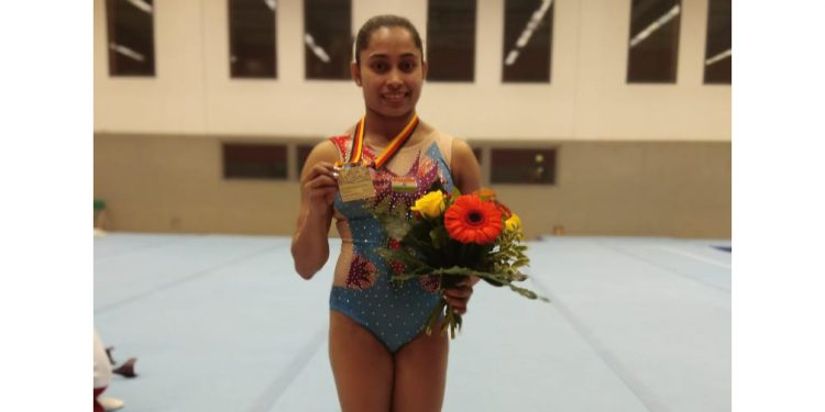 Dipa Karmakar clinches bronze at Artistic Gymnastics World Cup