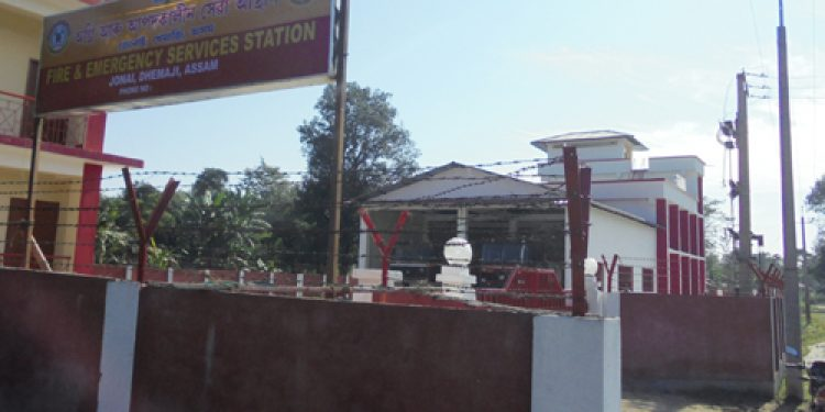 Fire & emergency service station in Dhemaji gets a facelift