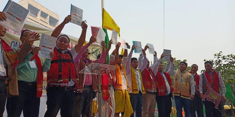 hunger strike in Delhi