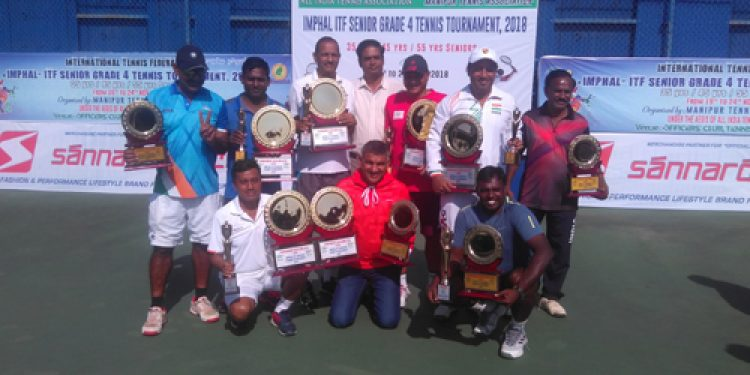 Imphal-ITF senior grade Tennis tourney concludes in Manipur