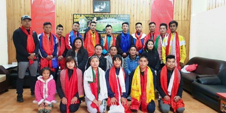 An 18-member Sikkim Association of Kickboxing Organisation (SAKO) is all set to represent Sikkim in the prestigious Senior National Kickboxing Championship to be held from December 2 to 5 at Kolkata. Photo: Sagar Chhetri