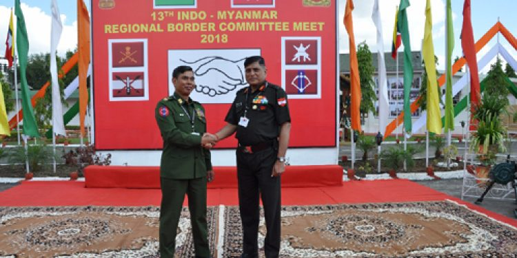 Indo-Myanmar Regional Border Committee meet