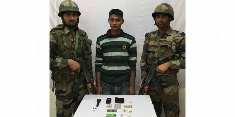 NSCN(K) cadre apprehended in jagun ghat
