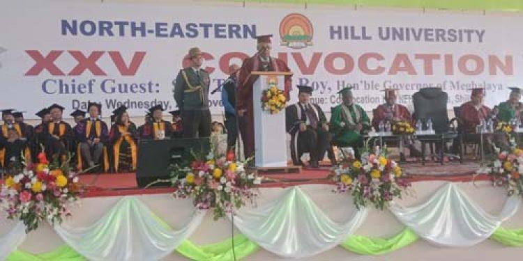NEHU confers degrees to over 8K candidates amid teachers boycott