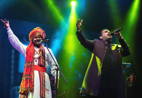 Shankar Mahadevan played at the BACARDÍ NH7 Weekender, festival