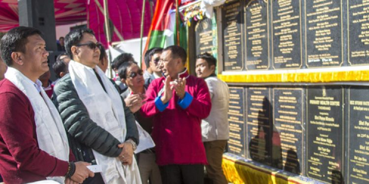Slew of developmental projects inaugurated at Dirang