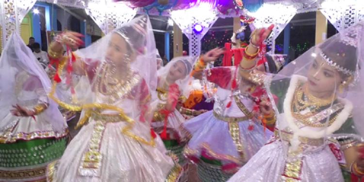 Tripura celebrates Lord Krishna's Rass Lila
