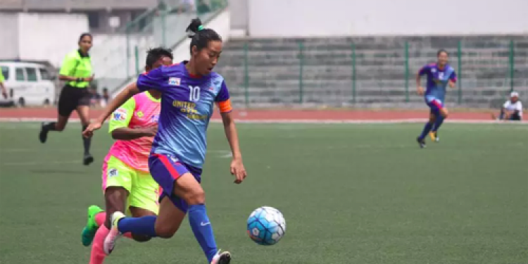 Ratanbala Devi - the 19 year old star of the Indian women's football team