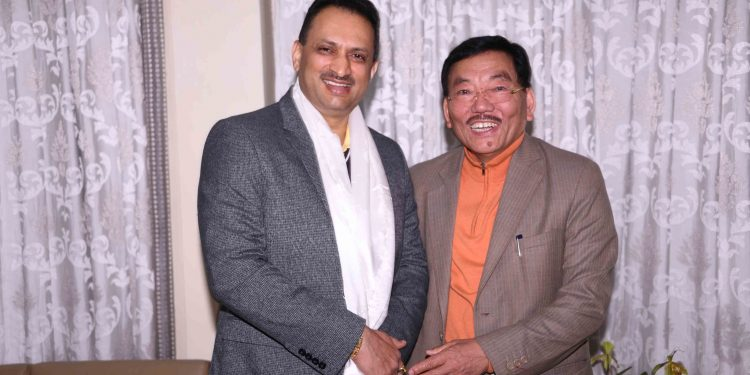 skill minister sikkim