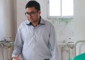 File photo of Kolasib district election officer Dr T Arun. Photo: Northeast Now