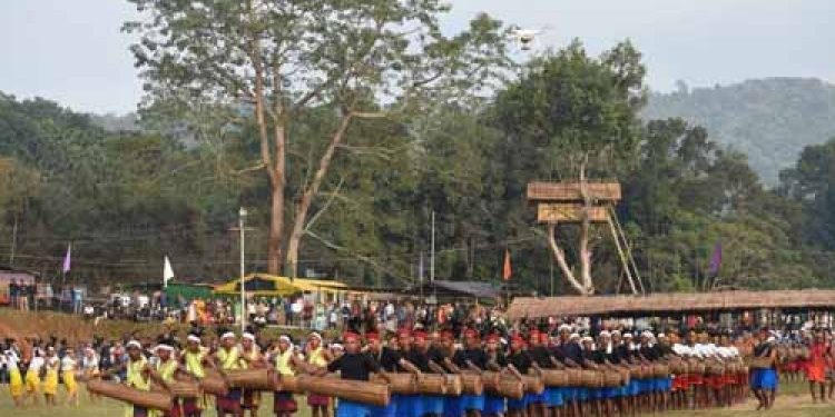 Wangala festival in meghalaya