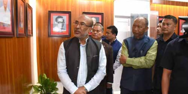 Ethnological Gallery of Manipur assembly archives opened