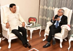 04-12-18 Guwahati- CM with Vice Chairman NITI Aayog (2)