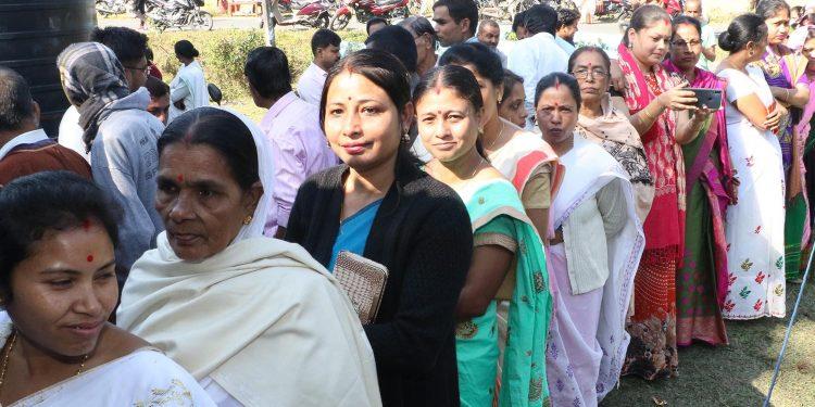 05-12-18 Jorhat- panchayat election polling (2)