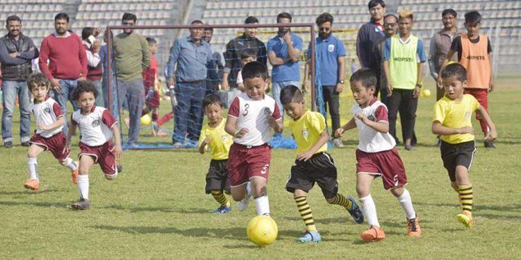Baby League football