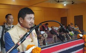 Assam: Basapi Teronpi memorial open stage unveiled in Karbi Anglong 1
