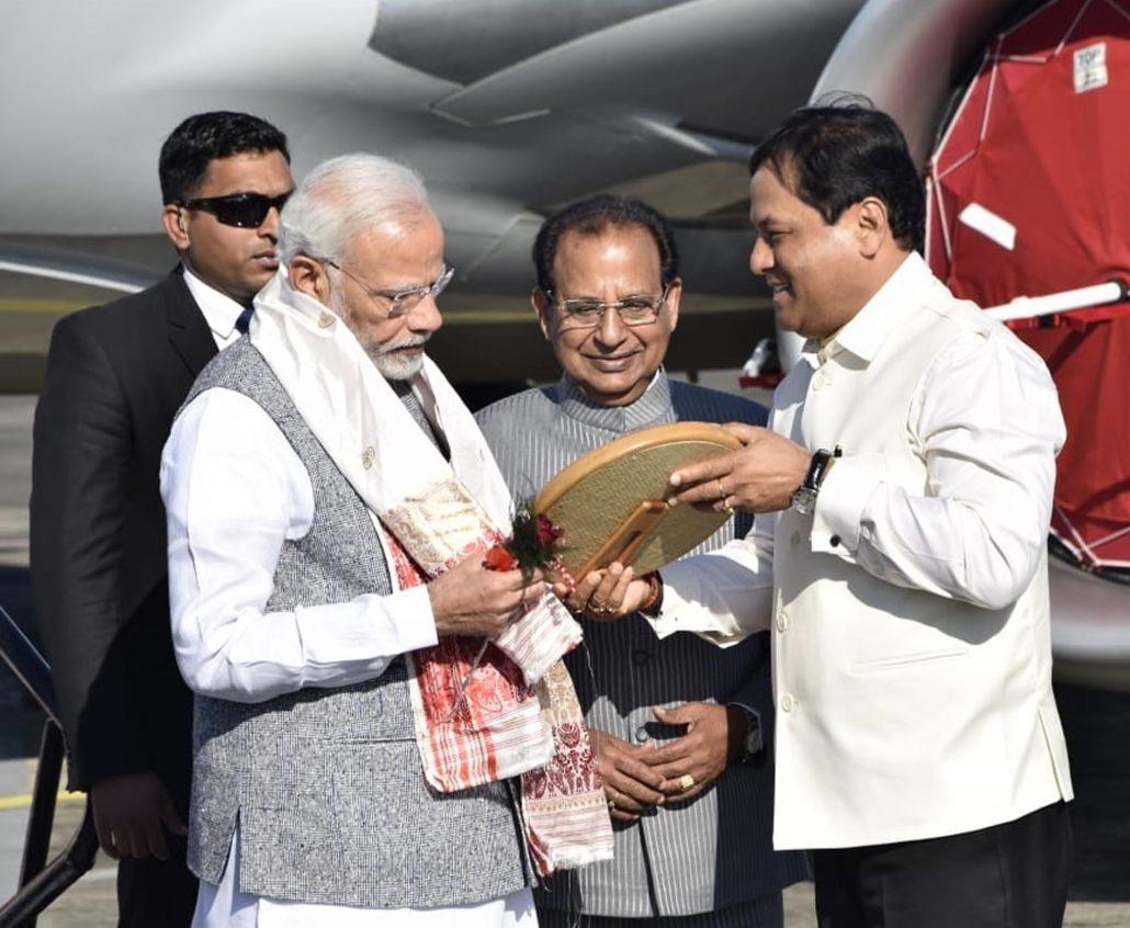 PM Narendra Modi inaugurates 4.94 km Bogibeel Bridge amid cheers of thousands 1