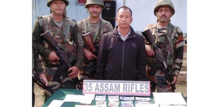 Assam Rifles nabs NSCN(K) cadre in Mon, seizes extortion receipts 1