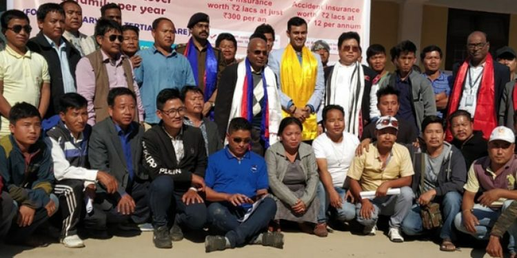Health insurance camp for transport body members in Arunachal 1