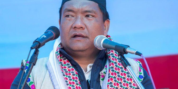 Arunachal Pradesh Chief Minister Pema Khandu. File image.