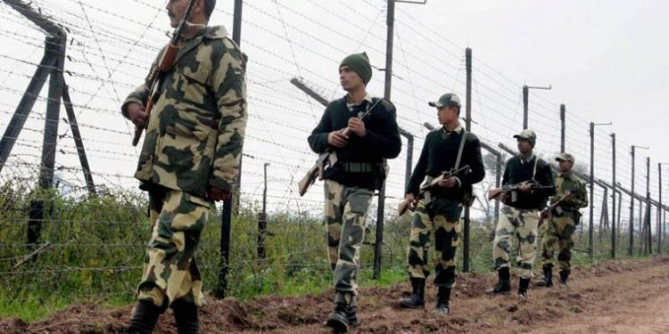 BSF troops guarding the border. Representative picture only.