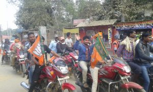 BJP bike rally