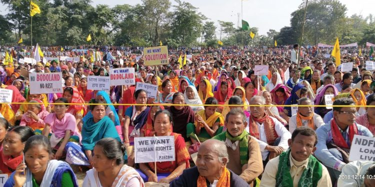 Bodoland rally. Photo: Northeast Now