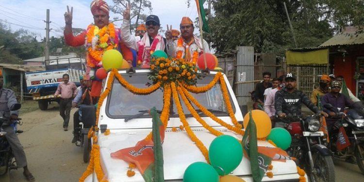 BJP celebrates victory