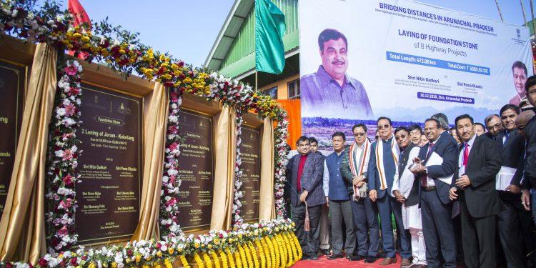 Gadkari dedicates projects worth Rs 9533 crore to people of Arunachal 1