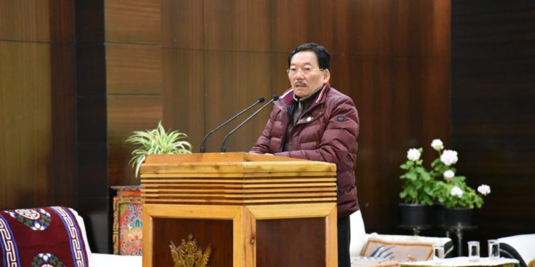 HCM interacts with Research Scholars