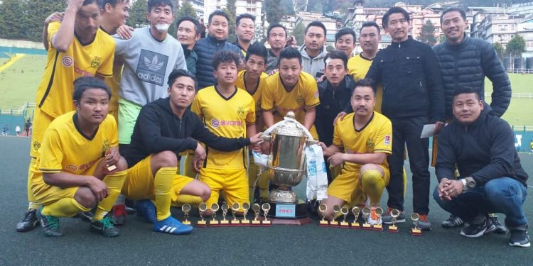 Sikkim: Local team lifts Sikkim Inter Church Football Tourney trophy