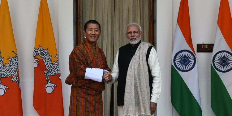 Lotay Tshering & Modi