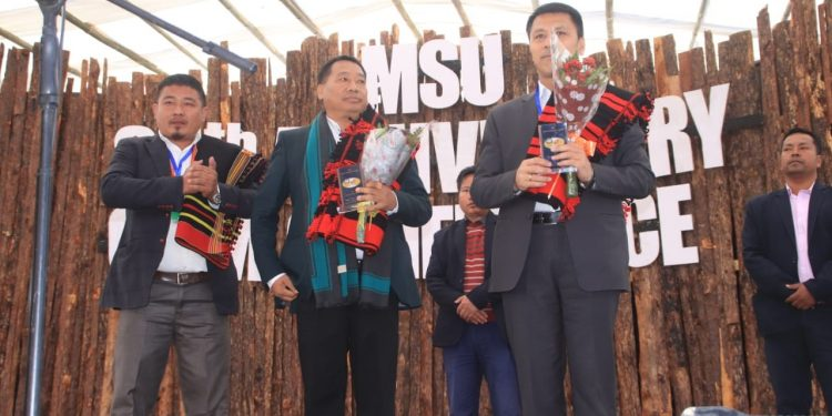 Mao Students' Union celebrates  its 85th anniversary. Image: Northeast Now.