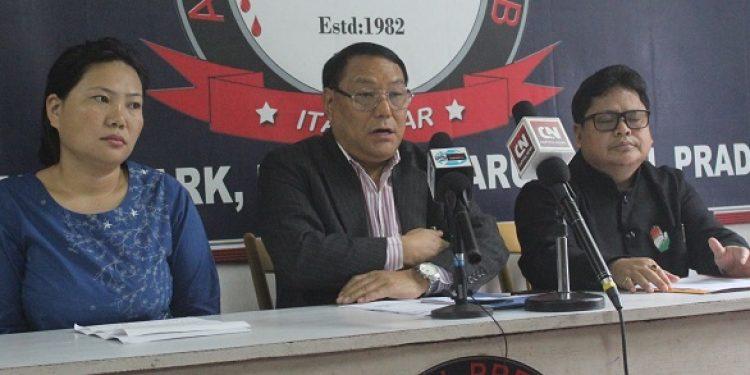 Arunachal Congress leaders