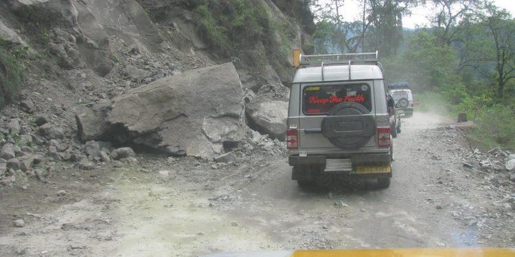 road in Sikkim